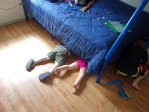 asher madeleine under bed