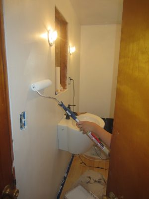 Painting our bathroom